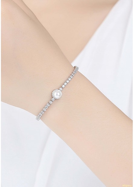 Sleek Minimalist Shell Beads Bracelets T901556332306