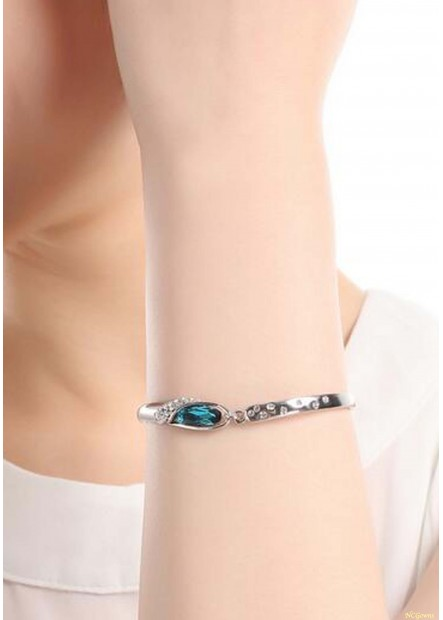 Smurf Crystal Bracelets T901556333893