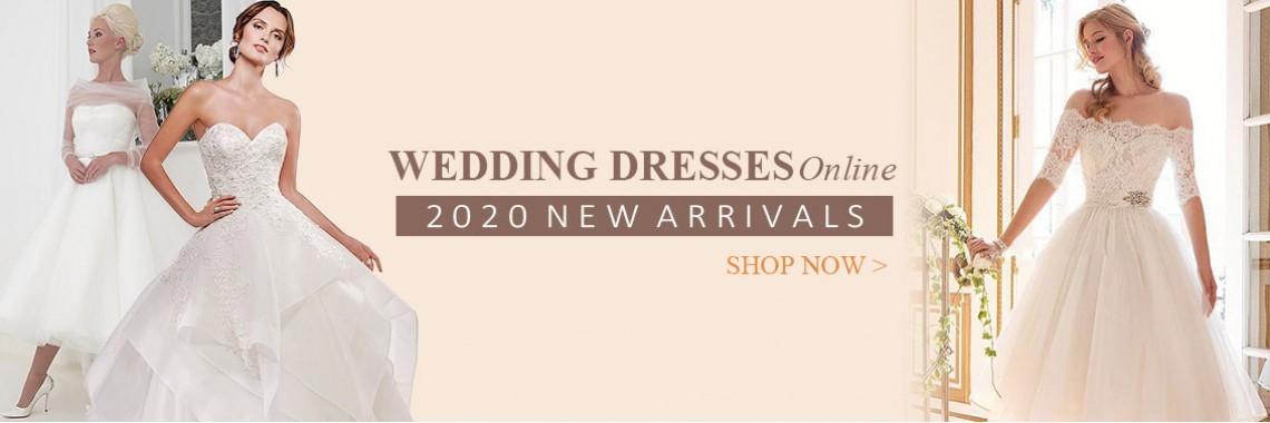 2020 wedding dresses online