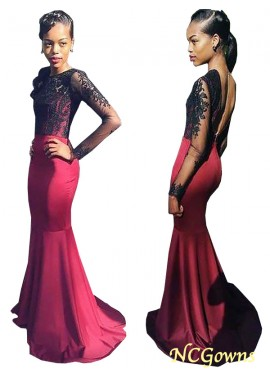 NCGowns Mermaid Long Prom Evening Dress T801524704048