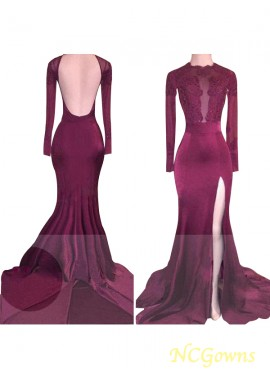 NCGowns Bargain But Best Mermaid Long Prom Evening Dress T801524702151