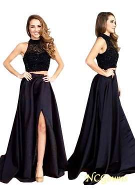 NCGowns Two Piece Long Prom Evening Dress T801524704096