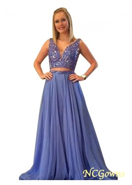 NCGowns Two Piece Long Prom Evening Dress T801524705357