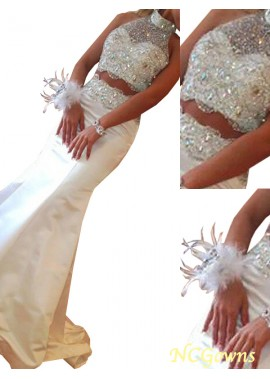 NCGowns Two Piece Long Mermaid Long Prom Evening Dress T801524703936