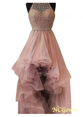 NCGowns High Low Long Prom Evening Dress T801524703853