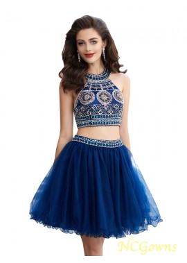 NCGowns Sparkly Short 2 Piece Prom Evening Dress T801524705538