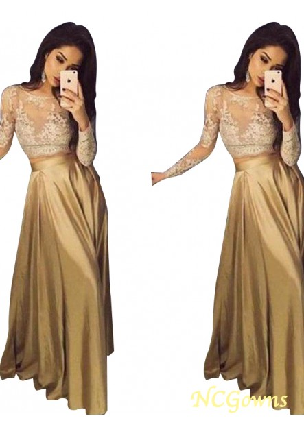 NCGowns Two Piece Long Prom Evening Dress T801524703821