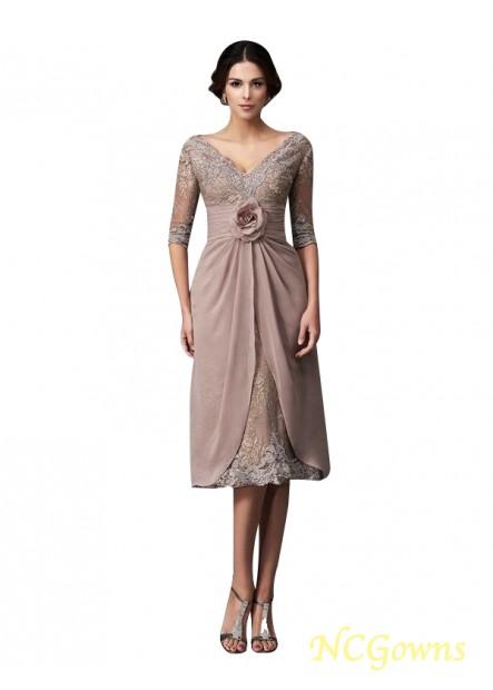 mother of the bride dress tea length T801524724728