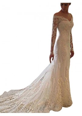 NCGowns 2021 Beach Lace Wedding Dresses T801524714687