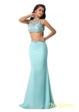 NCGowns Sexy Two Piece Long Mermaid Prom Evening Dress T801524707165