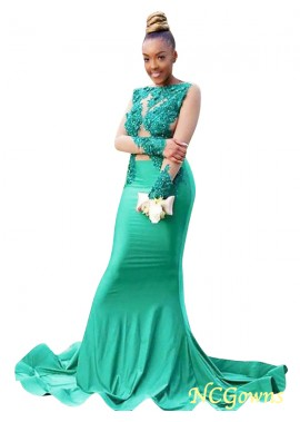 NCGowns Mermaid Long Prom Evening Dress T801524705354