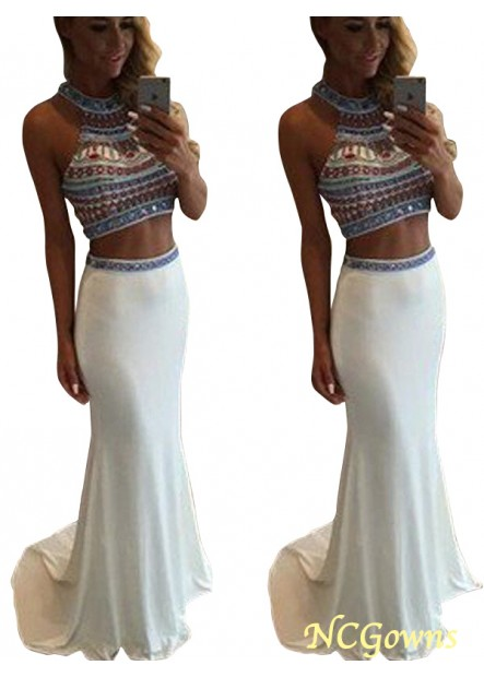 NCGowns Two Piece Long Mermaid Long Prom Evening Dress T801524705000