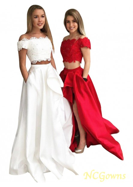 NCGowns Two Piece Long Prom Evening Dress T801524703851