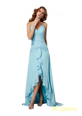 NCGowns High Low Long Prom Evening Dress T801524706723