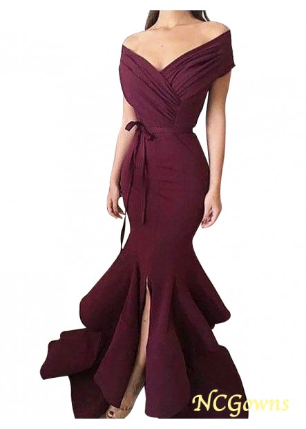 NCGowns Mermaid Long Prom Evening Dress T801524704043