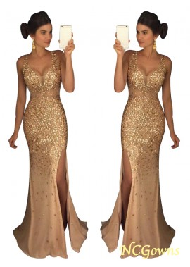 NCGowns The Gold Long Prom Evening Dress T801524640105