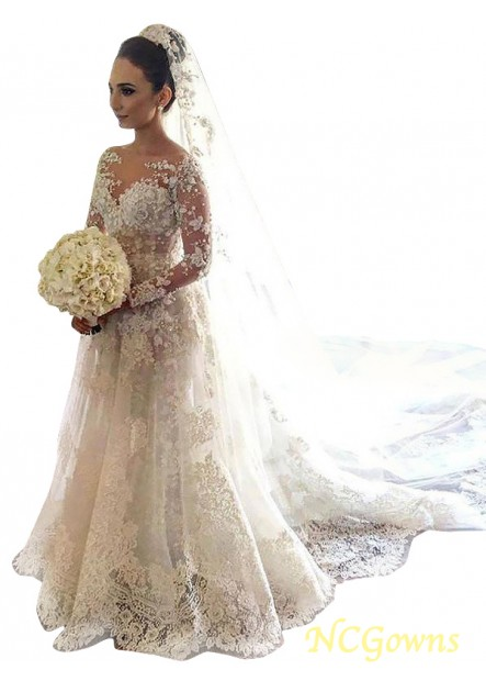 NCGowns 2021 Lace Wedding Dress T801524714711