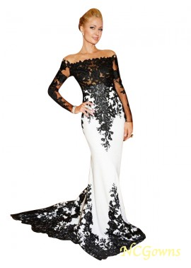 NCGowns Mermaid Long Prom Evening Dress T801524704054