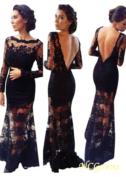 NCGowns Mermaid Long Prom Evening Dress T801524704094