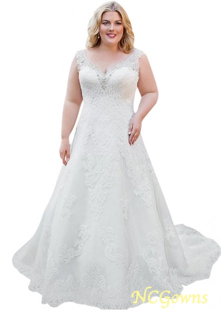 NCGowns Lace Plus Size Wedding Dress T801525387650