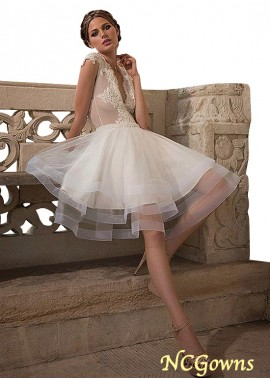 NCGowns Short Wedding Dress T801525384860