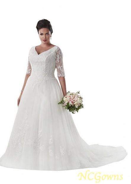 NCGowns Plus Size Wedding Dress T801525331194