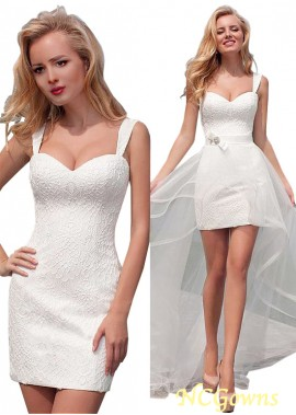 NCGowns Beach Short Wedding Dresses T801525318089