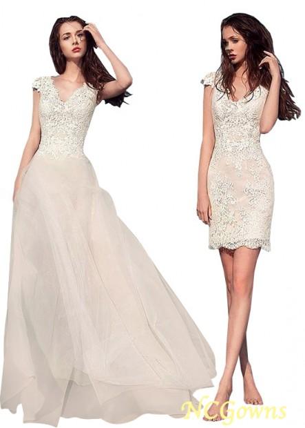 NCGowns Beach Short Wedding Dresses T801525317586