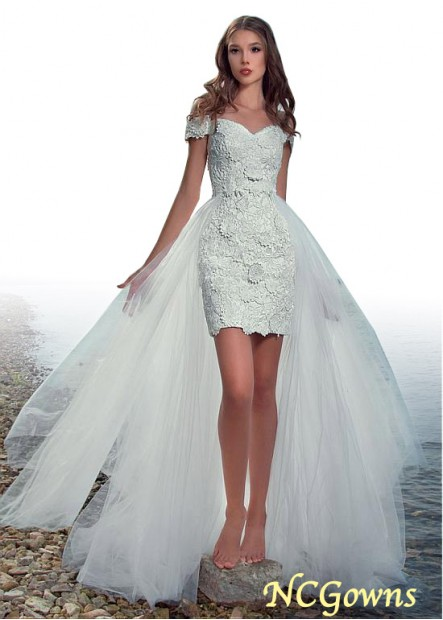 NCGowns Beach Short Wedding Dresses T801525320213