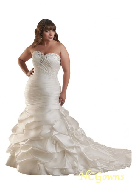 NCGowns Plus Size Wedding Dress T801525326247