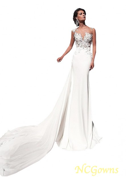 NCGowns Casual Bridal Beach Wedding Dresses T801525317945