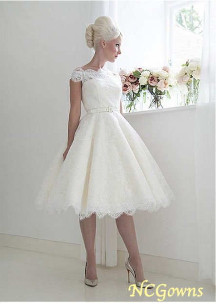 NCGowns Short Lace Wedding Dress T801525388007