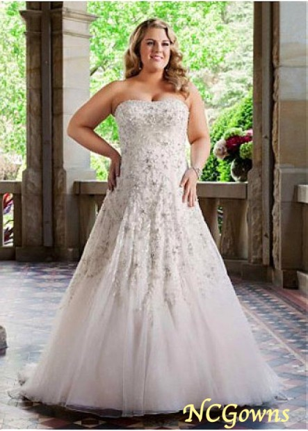 NCGowns Plus Size Wedding Dress T801525330350