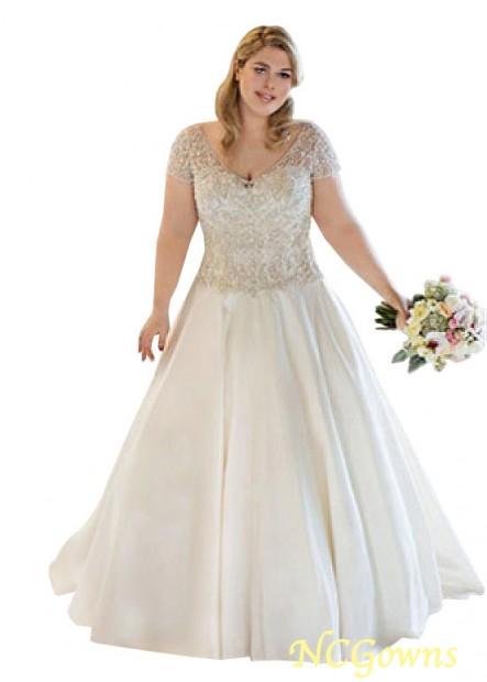 NCGowns Plus Size Wedding Dress T801525319044