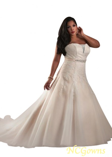 NCGowns Plus Size Wedding Dress T801525328841