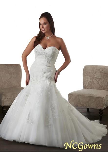 NCGowns Plus Size Wedding Dress T801525326255
