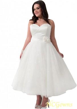 NCGowns Short Plus Size Wedding Dress T801525317605