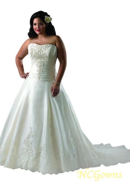 NCGowns Plus Size Wedding Dress T801525329222