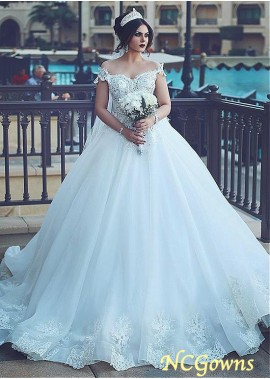 NCGowns Plus Size Wedding Dress T801525327018