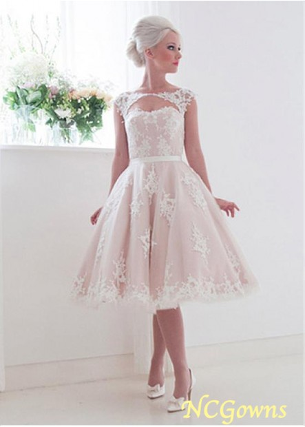 NCGowns Short Lace Wedding Dress T801525388010